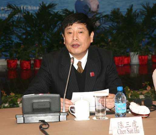 公安部国际合作局副局长陈三虎
