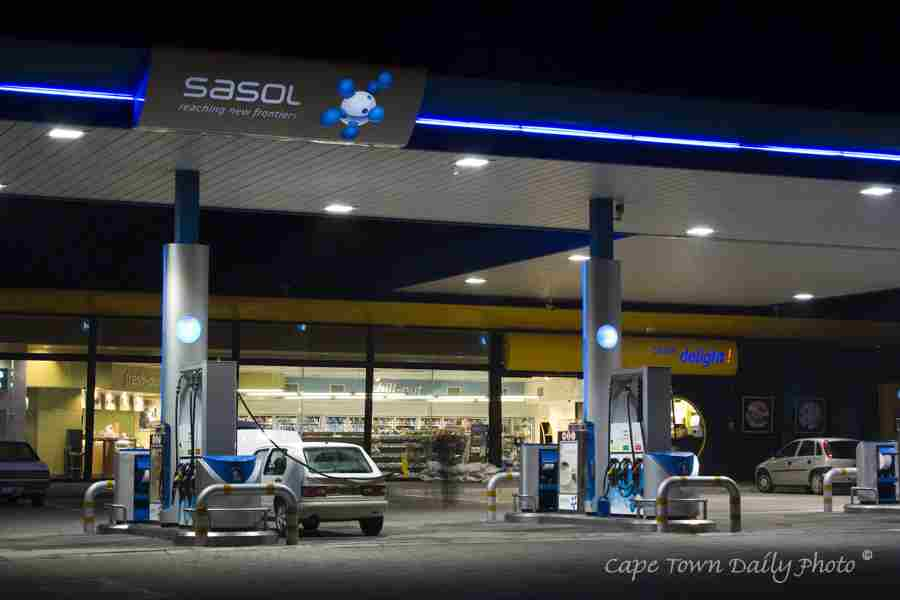 South African Petrol Station