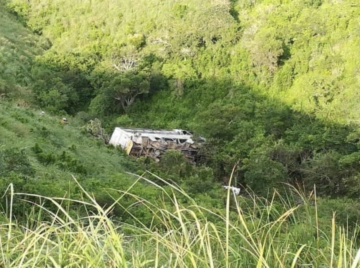 南非东开普省发生严重车祸 导致至少21人死亡