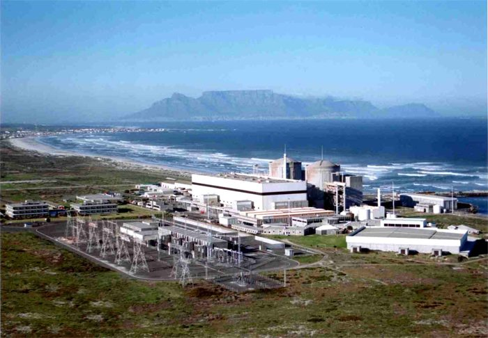 nuclear power stations in south africa